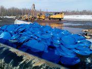 Крышки пластиковые газпром бу