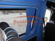 Шторки турецкого производства для микроавтобусов и автобусов Форд Т