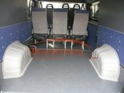Защита колёсных арок в микроавтобус Форд Транзит серого цвет