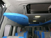 Универсальные багажные полки для микроавтобусов Мерседес