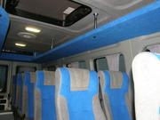 Универсальные багажные полки для микроавтобусов