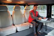 Столик автомобильный в микроавтобус универсальный. Столик в