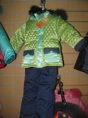 Продам новый зимний костюм на девочку р. 92